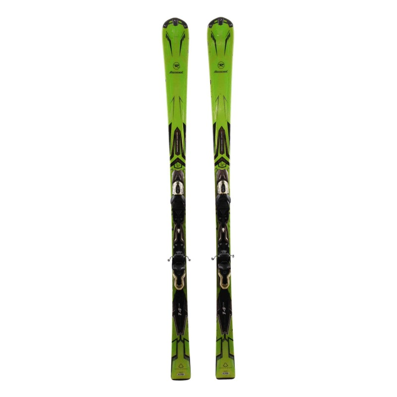 Rossignol Pursuit 14 LTD green + fijaciones usados