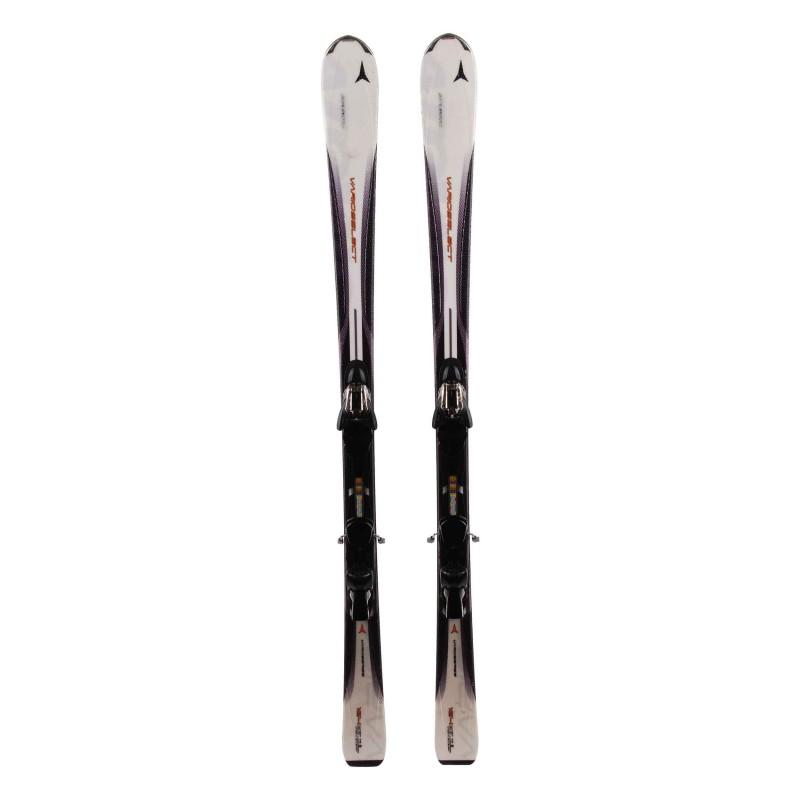 Ski used Atomic Varioselect white / black + bindings