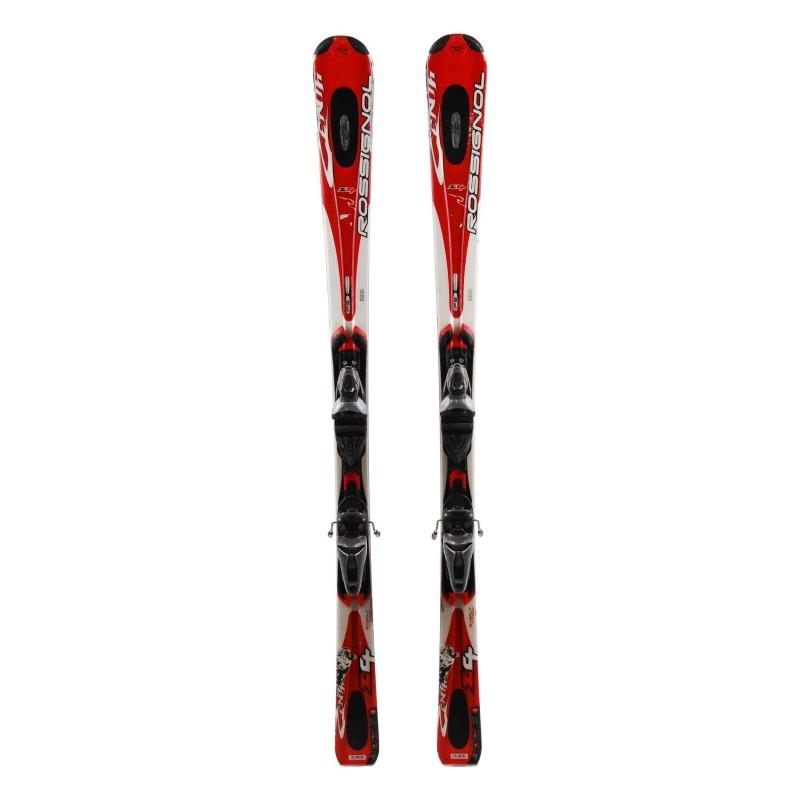 Esquí Rossignol Zenith Z4 rojo Segunda opción + Fijaciones