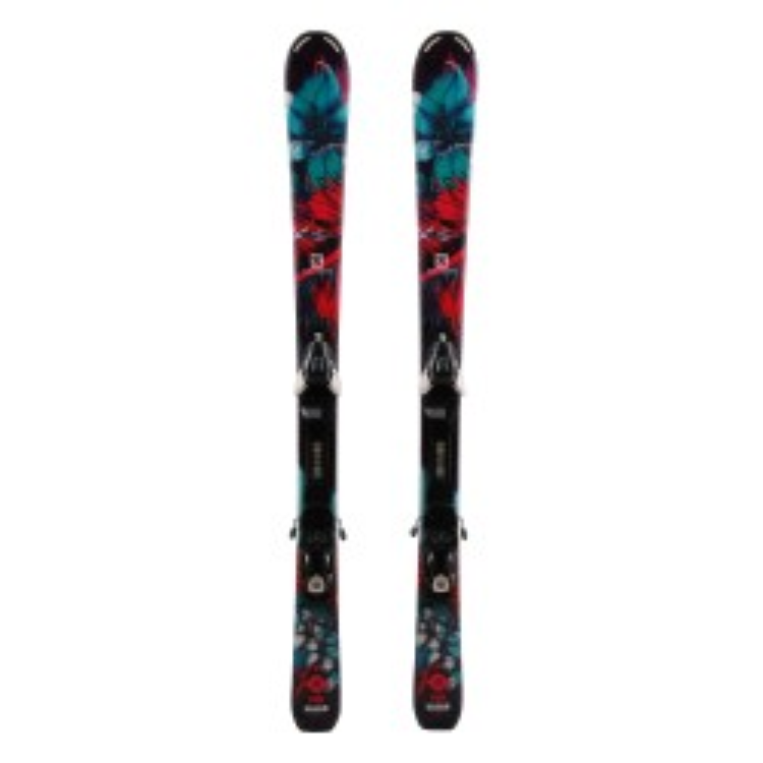 Ski junior occasion Salomon Lux - fijaciones
