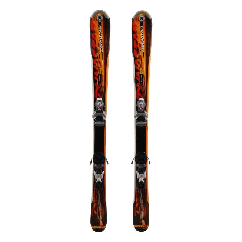 Ski occasion junior Dynastar Cross team Qualité A + fixations