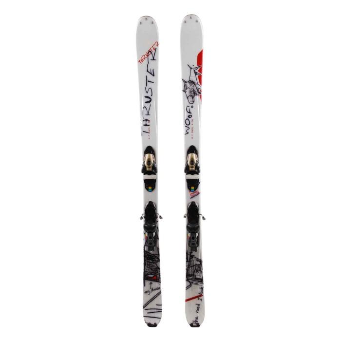 Ski Gelegenheit Salomon Thruster Woof - Fixierungen