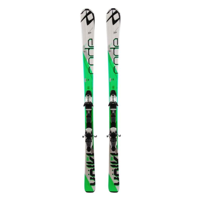 Ski occasion Volkl Code 7.4 Qualité A + fixations