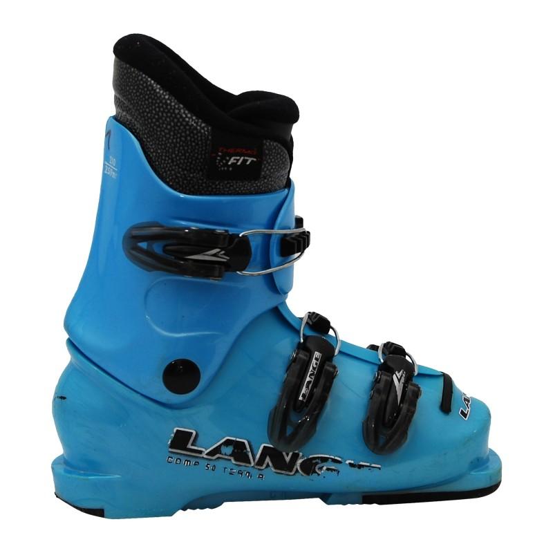 Chaussure de ski occasion junior Lange Comp team 50/60 R bleu