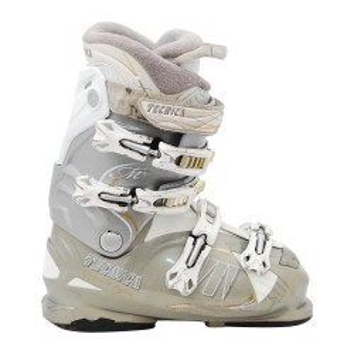 Gebrauchter Tecnica Mega RT / M + Grey Ski Schuh