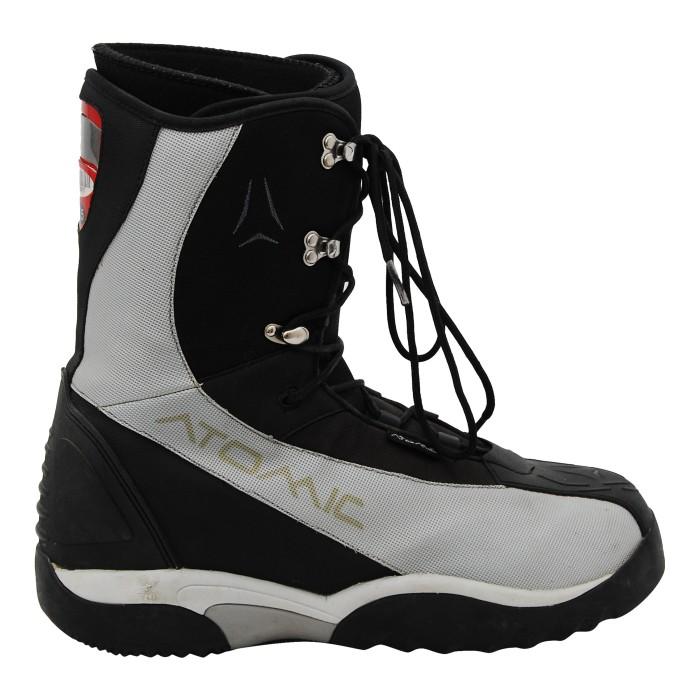 Atomic gebrauchte Stiefel grau / schwarz
