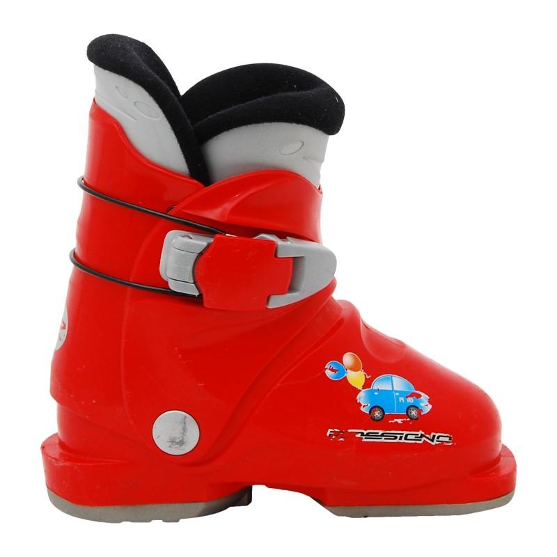 Chaussure ski occasion junior Rossignol mini R 18 rouge qualité A