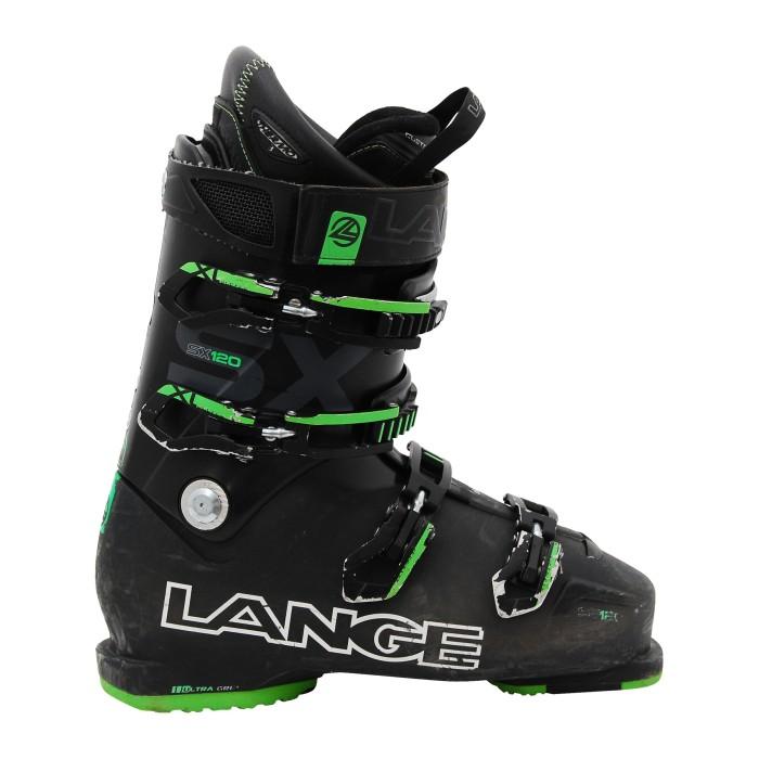 Chaussure de Ski Occasion Lange SX 120 noir vert