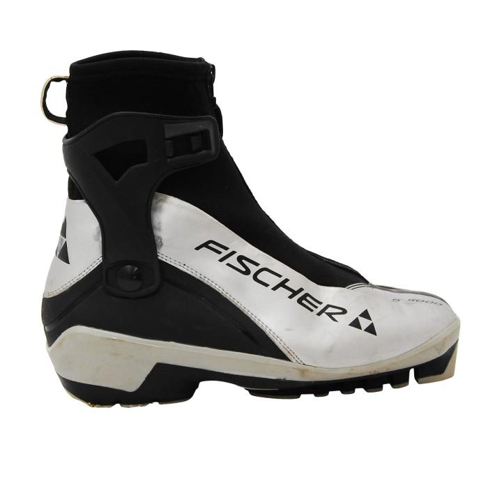 Chaussure de ski de fond Skating occasion Fischer S 5000 gris noir