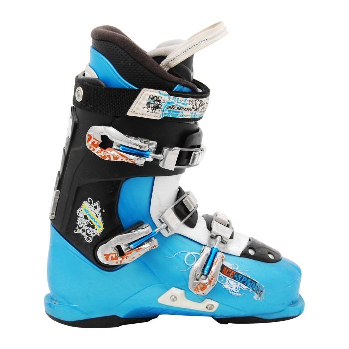 Ski Boot Junior Nordica Ace of Spades black blue