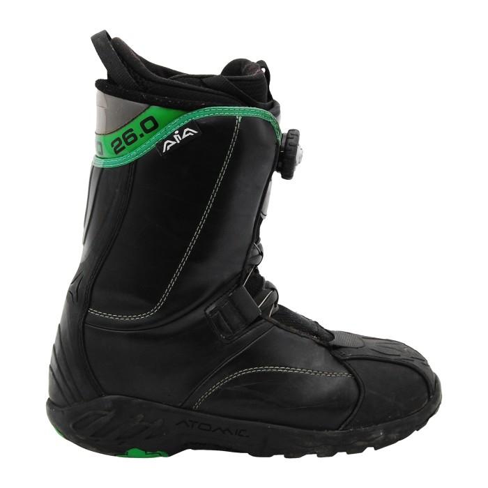 Boots occasion Atomic Aïa noir