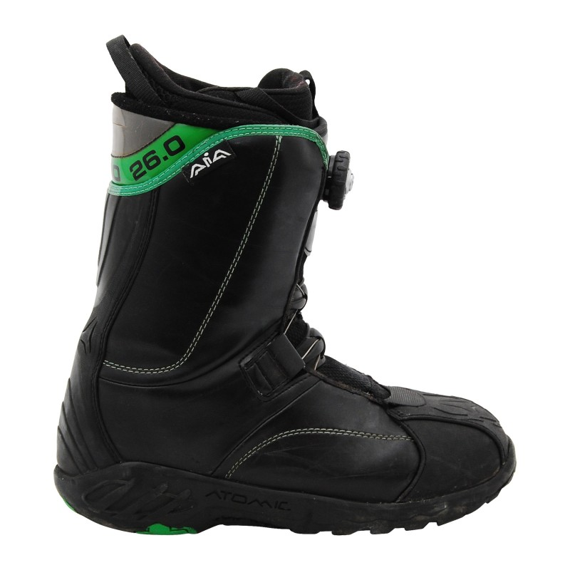 Gebrauchte Atomic schwarze Stiefel