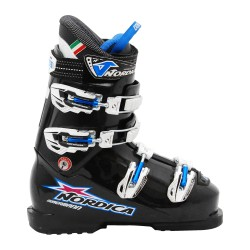 Chaussure de Ski Occasion Junior Nordica Dobermann team 70 noir violet