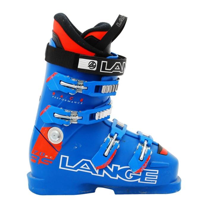 Bota de esquí Junior Lange RS 70 Blue Junior