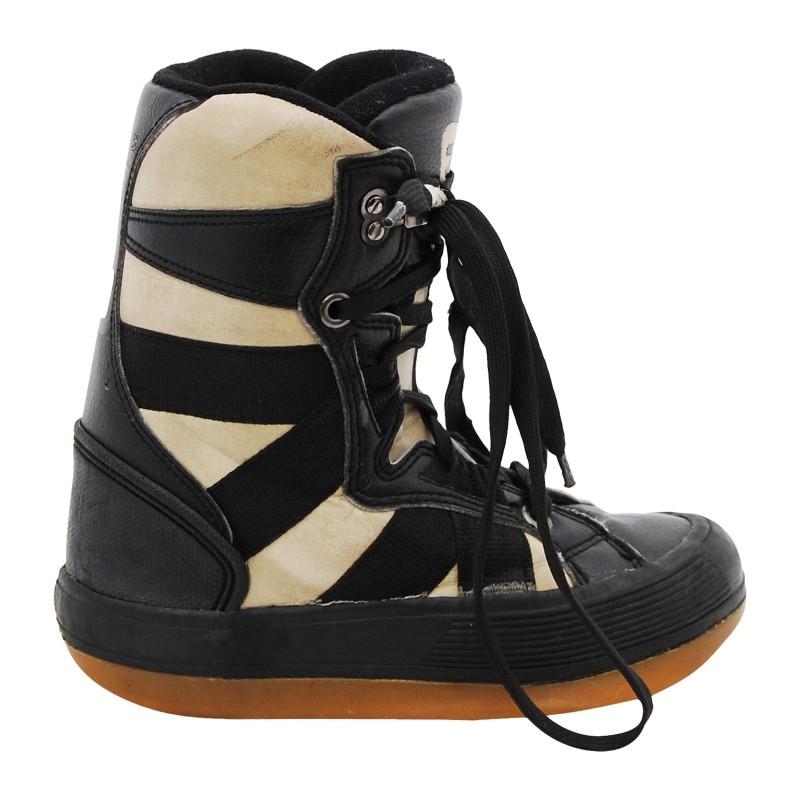 Boots occasion junior Rossignol noir beige qualité A