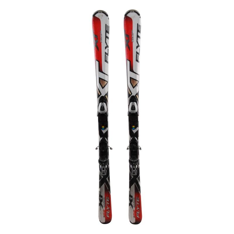 Ski used Tecnopro XT Flyte red + bindings