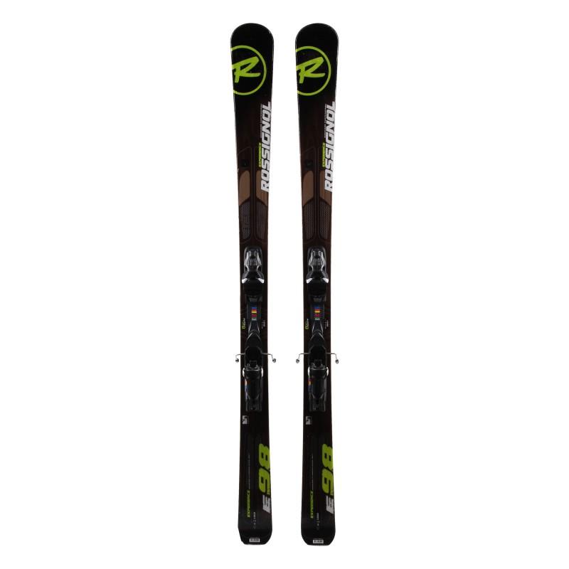 Ski verwendet Rossignol S3. 98 + Bindungen