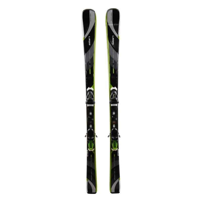 Ski used Elan Waveflex 78 black + bindings