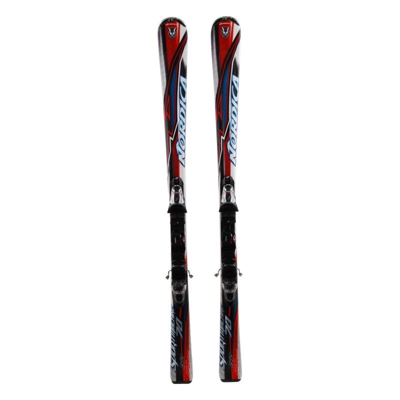 Esquí Nordica Sportmachine 70 + fijaciones