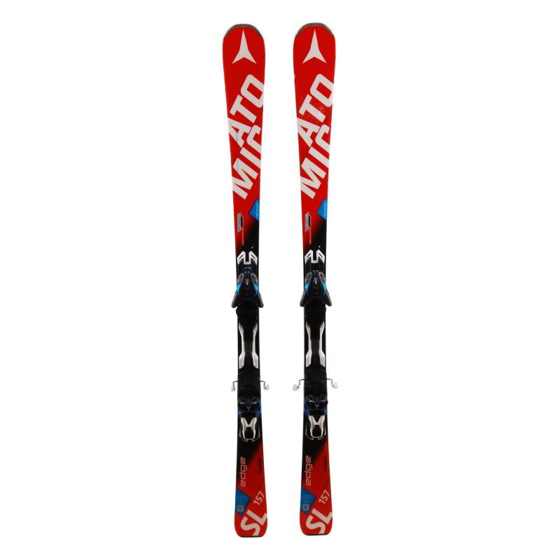 Ski Atomic Redster edge SL occasion Qualité A + fixations