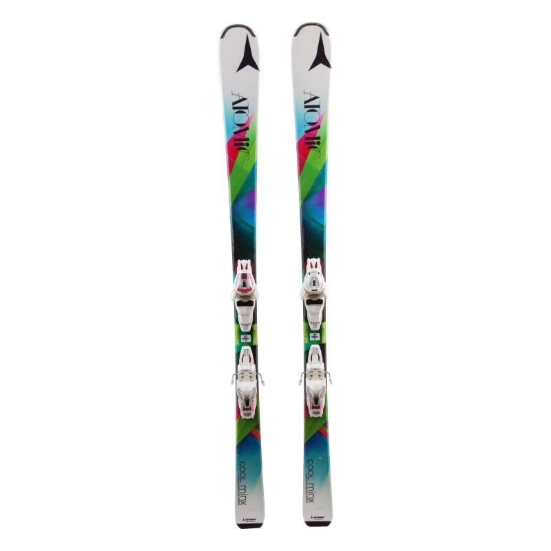 Skifahren Atomic Cool Minx + Bindungen