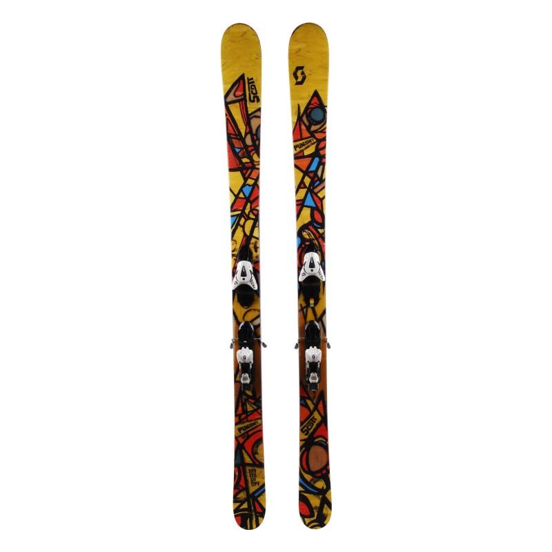 Scott Punisher Ski + Bindungen