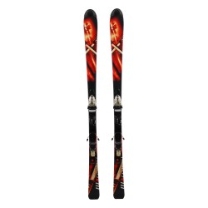 Espada de movimiento de la ocasión de esquí - fijaciones