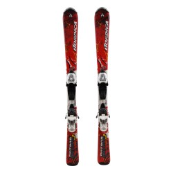 Ski occasion junior Nordica Hot Rod J + fixations