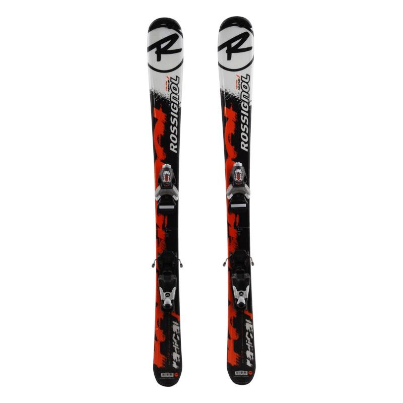 Junior Ski Rossignol Radical J Orange / Schwarz + Bindungen