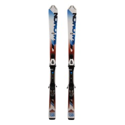 Ski occasion Salomon Enduro 800 junior + fixations