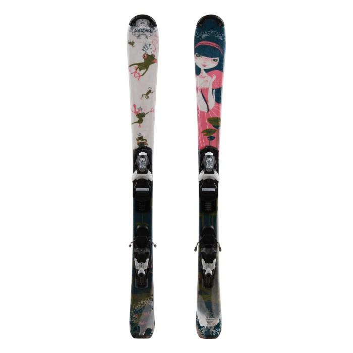 Ski occasion Junior Wedze Starliner 3e choix + fixations