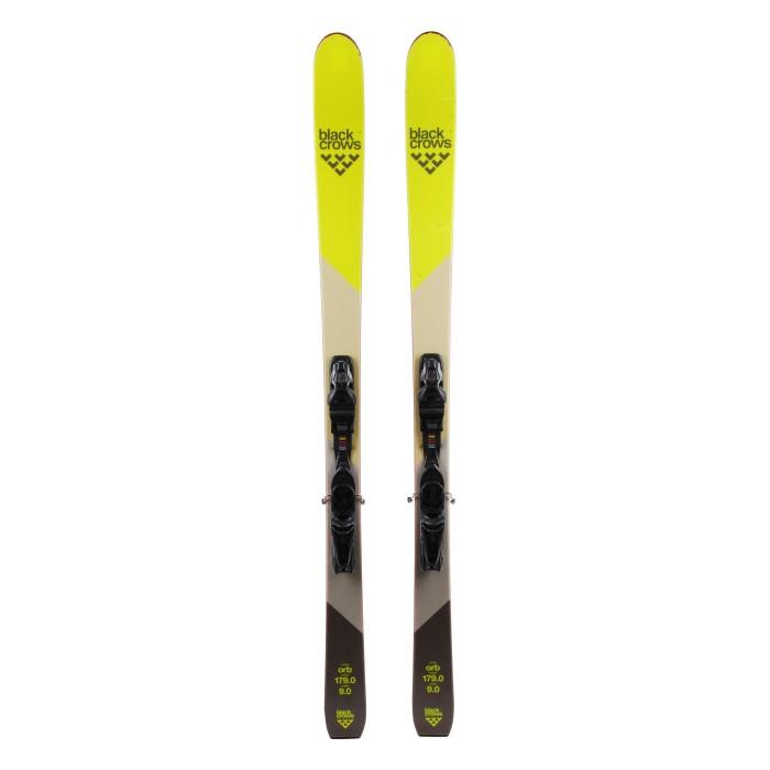 Black Crows ORB Used Ski Yellow + bindings