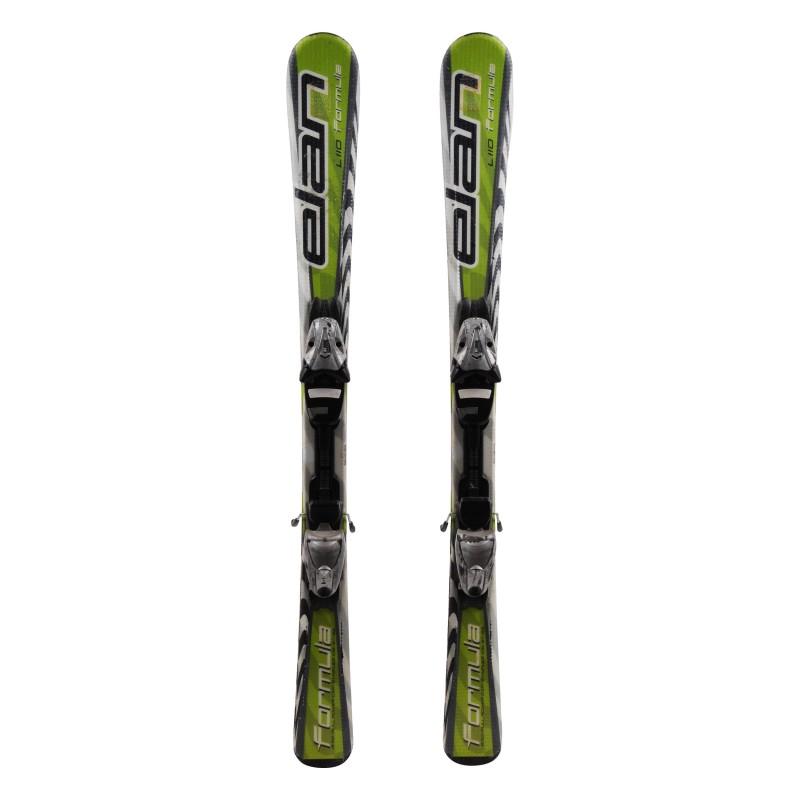 Esquí junior Elan Fórmula verde 2da opción + fijaciones