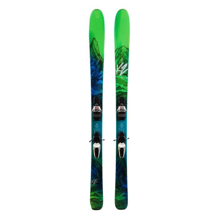 Ski occasion K2 Fulluvit 98 ti + fixations