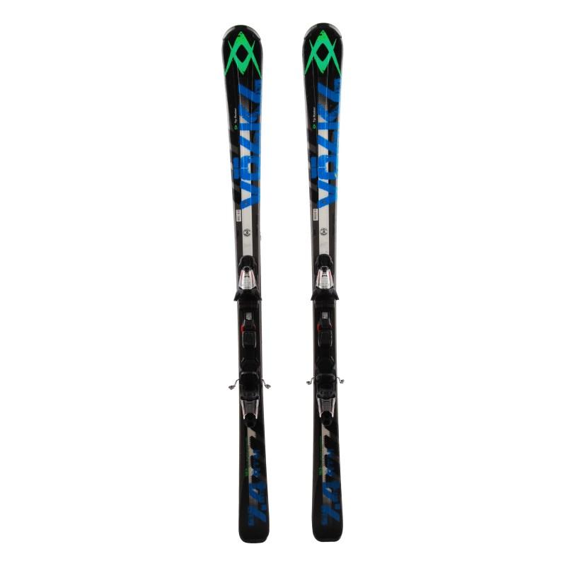 Ski Volkl RTM 7.4 black blue + bindings