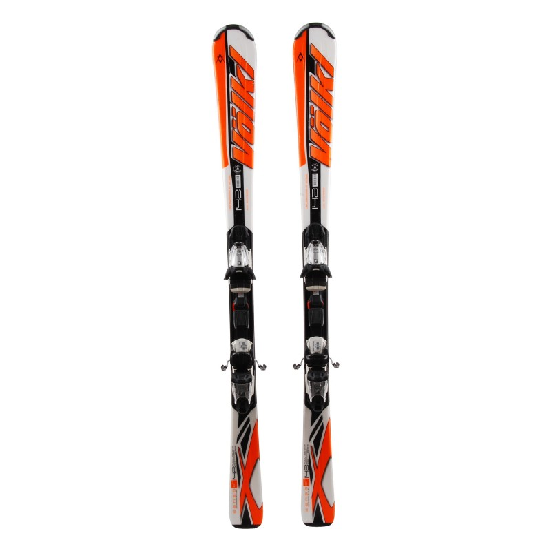 Ski used Volkl Sensor 6.9 multicolored 2nd choice + bindings