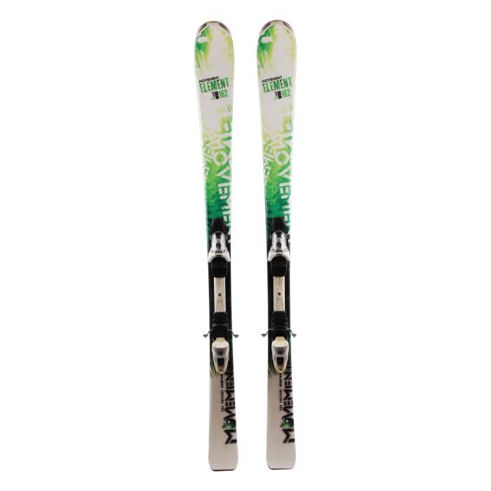 Ocasión de esquí Elemento de movimiento ancho - fijaciones