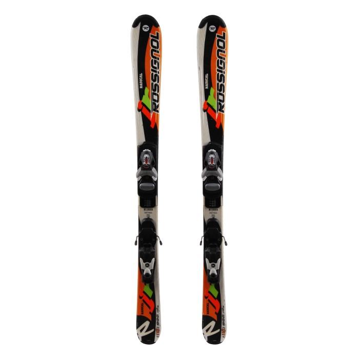 Ocasión de esquí junior Rossignol Radical - fijaciones