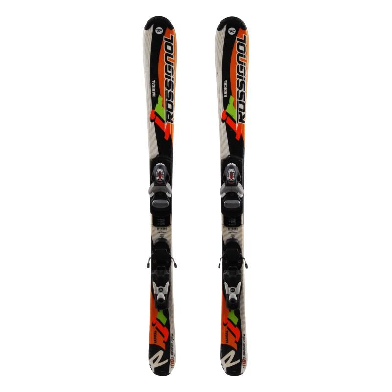 Ski occasion junior Rossignol Radical Qualité A + fixations