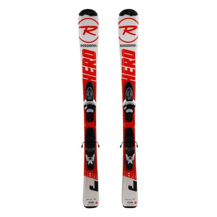 Ocasión de esquí junior Rossignol Hero J - fijaciones