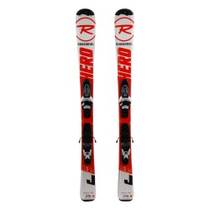 Ski occasion junior Rossignol Hero J - bindings