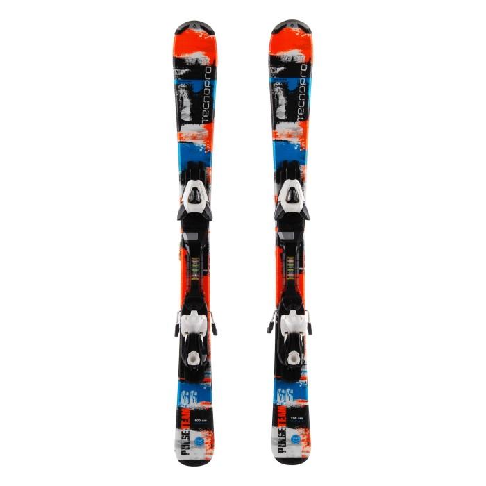 Ocasión de esquí junior Tecno pro Pulse Team - fijaciones