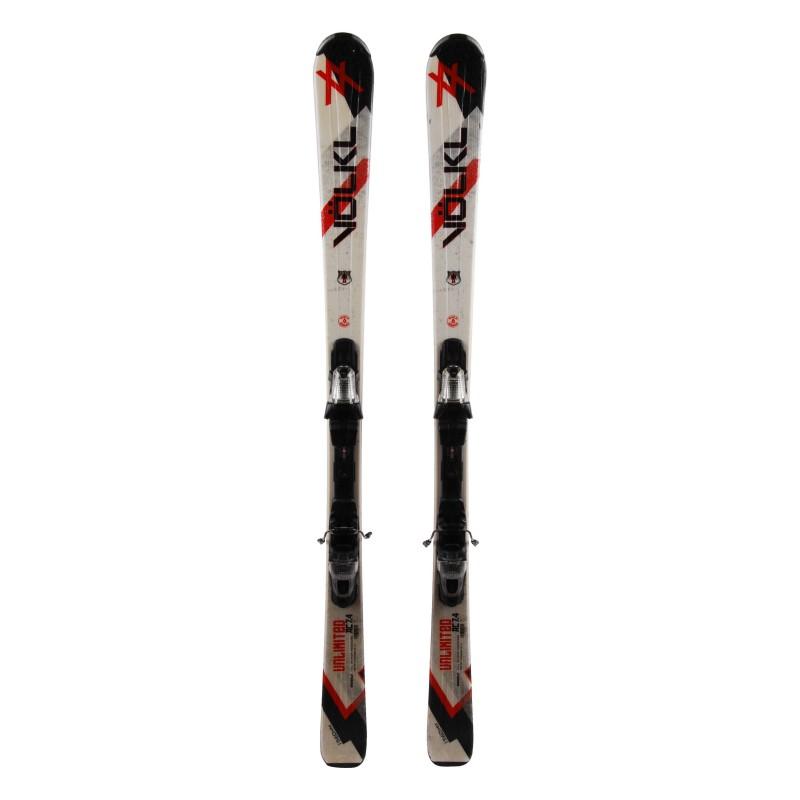 Esquí utilizado Volkl AC 7.4 + fijaciones