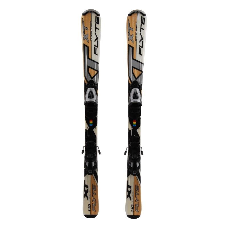 Junior Ski Tecnopro XT Flyte beige + Bindungen