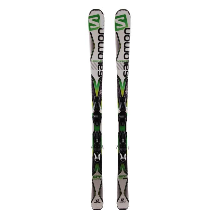 Ski gebraucht Salomon X Drive 8.0 BT - Befestigungen