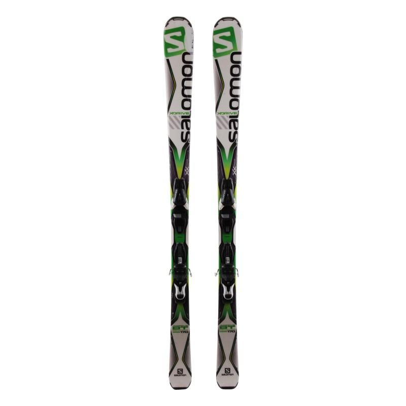 Ski occasion Salomon X Drive 8.0 BT Qualité C + Fixations