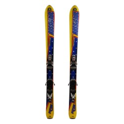 Rossignol rpm blue junior ski + bindings