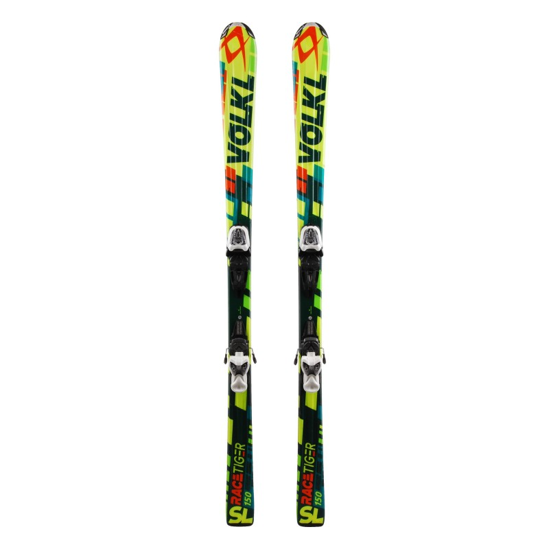 Ski occasion Volkl Racetiger SL Junior Qualité A + fixations