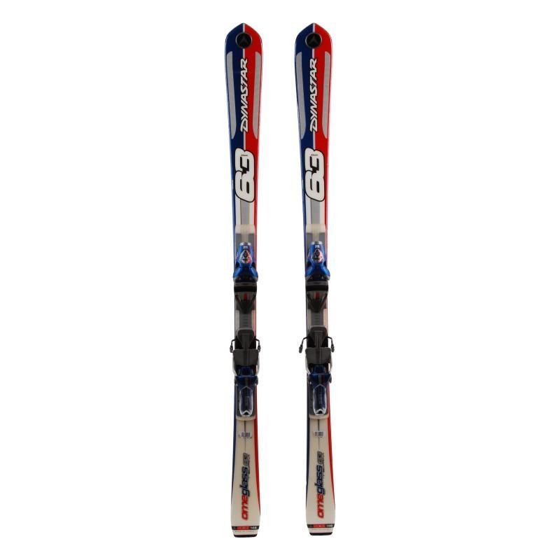 Ski occasion junior Dynastar Team Omeglass 63 Qualité A + fixations