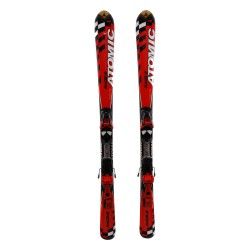 Junior ski Atomic Race 6 red + bindings